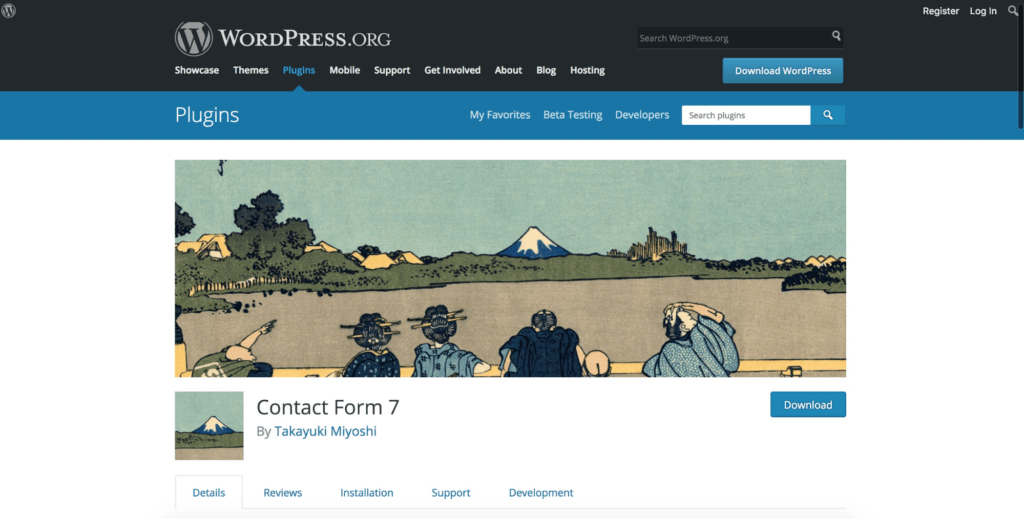 Contact Form 7 Dashboard